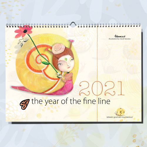 Calendar 2021 | The Year Of The Fine Line (between good and misunderstood)